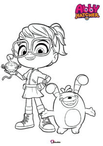 List Of Abby Hatcher Coloring Pages