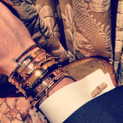 756af0464cd12 Cartier Bracelets: gotta add the love bracelet and the juste un clou ...