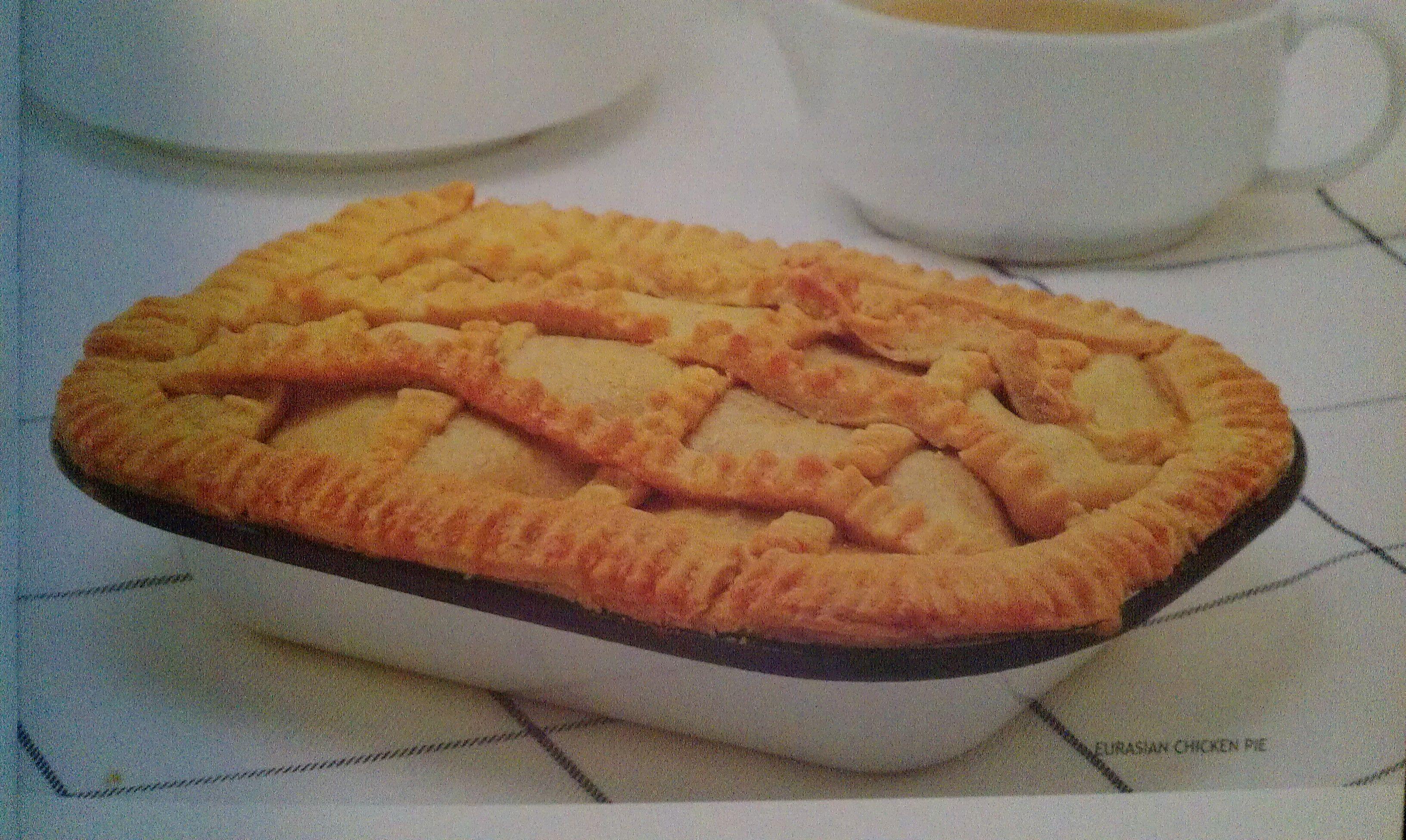 Chicken pie mary gomez the eurasian cookbook eurasian food food forumfinder Choice Image