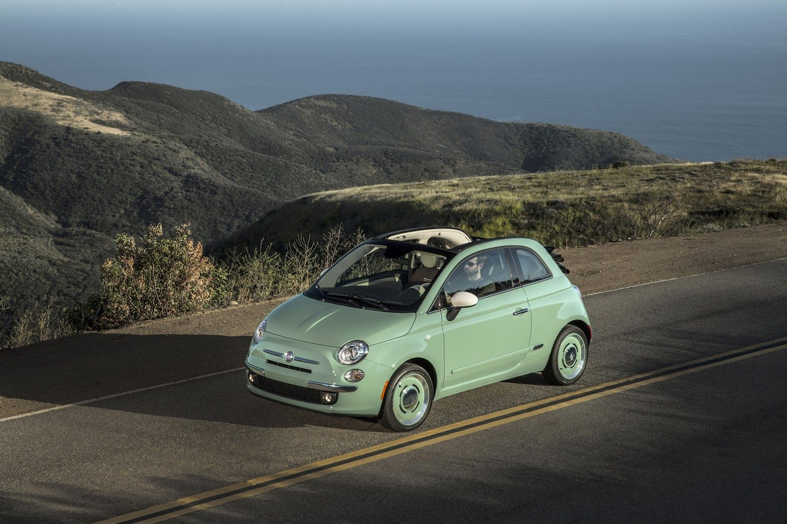Fiat Adds 500 Cabrio 1957 Edition To Us Lineup Cabriolet Fiat