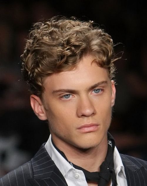 Short Curly Hairstyles For Men Mesmerizing Short Curly Hairstyles For Men  Globezhair  Hair  Pinterest