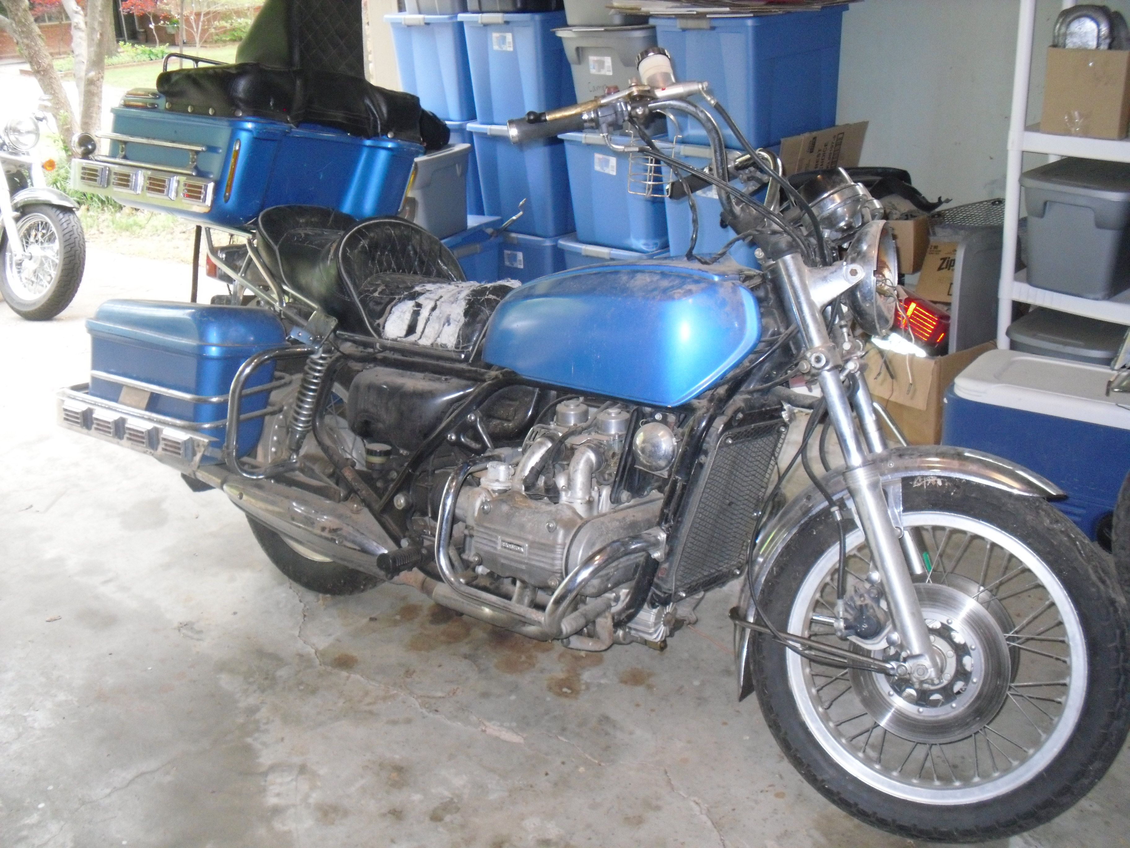 My 1976 Honda Goldwing GL1000 Check out 1000's of classic ...