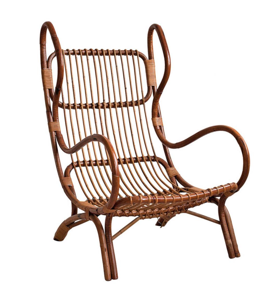 Gio Ponti armchair produced by Pierantonio Bonacina