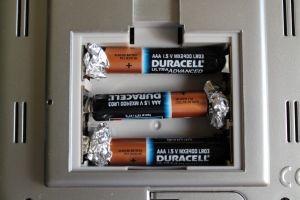 Tin Foil Aaa Batteries Aa Alufolie Haushalts Tipps Zahnstein Entfernen
