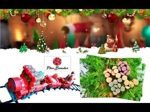 Christmas train recycling corks Pinterest Handmade Shopping Mall