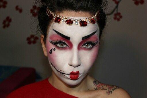 Geisha/Halloween Instagram: daiana kir