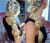 """ladder-braid tutorial # ladder Braids tutorial Hannah Holsomback on Instagram: """"Created this whimsical look a year ago and still having heart eyes for it"""