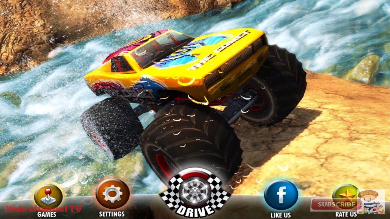 Off Road Monster Truck Derby Monster Trucks For Kids Games Simulator Monster Trucks Truck Games For Kids Trucks