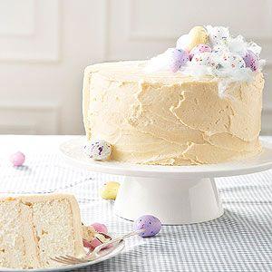 부활절 말티드 바닐라 케이크