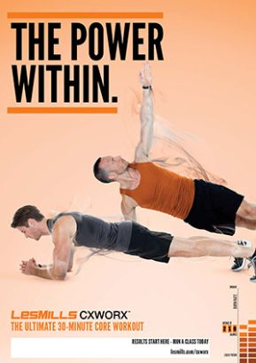 2013 1 Les Mills Posters Les Mills Workout Core Workout Group Fitness