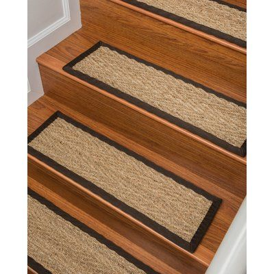 Best Bayou Breeze Lincoln 100 Natural Fiber Stair Tread Color 400 x 300