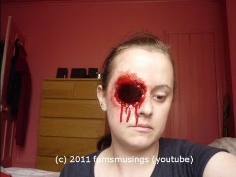 Missing eye - Halloween/FX tutorial - YouTube   Halloween ...