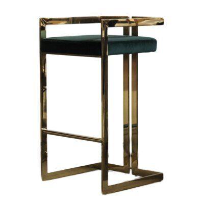 Meubles House Wilfred 30 Bar Stool Upholstery Green Bar Stools 30 Bar Stools Designer Bar Stools