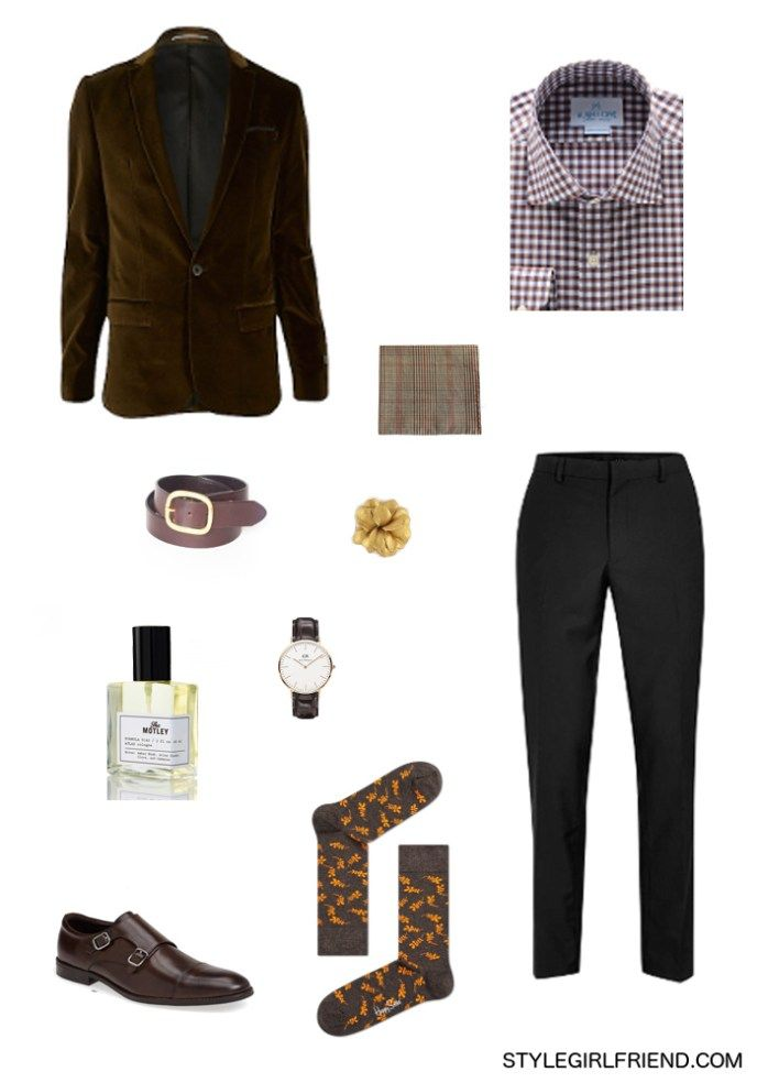 Winter Date Night Outfit for Men #datenightoutfit