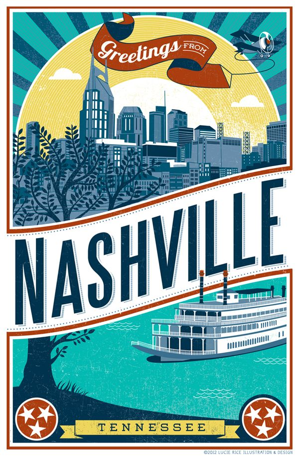 home and decorating show nashville nashville poster by rice illustration graphic 12204