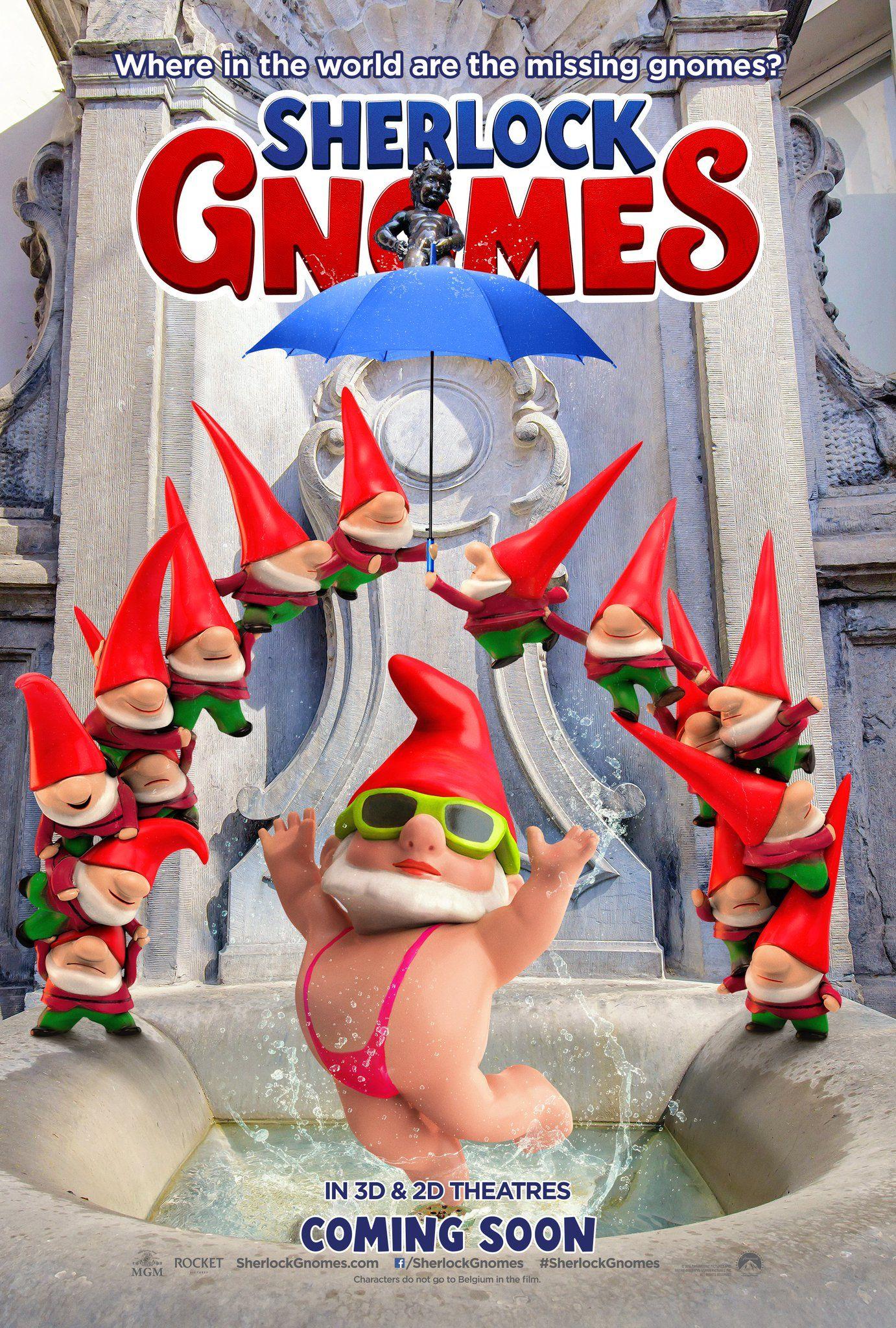 "New Belgium poster for ""Sherlock Gnomes"" has small print"