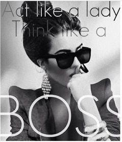 Think like a boss...