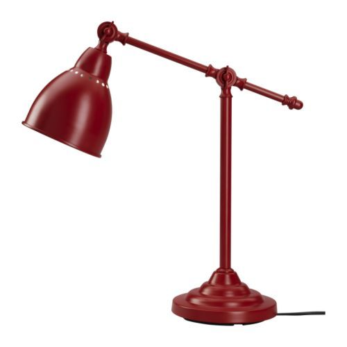 Barometer Work Lamp Red Ikea For Another Splash Of Red