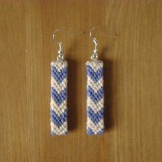 codes promo nouveau style de vie doux et léger Bijoux Boucles d'oreilles bande coton tissage brésilien en v ...