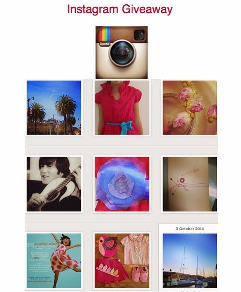 Win a gift card when you tell us which Instagram image you like most!