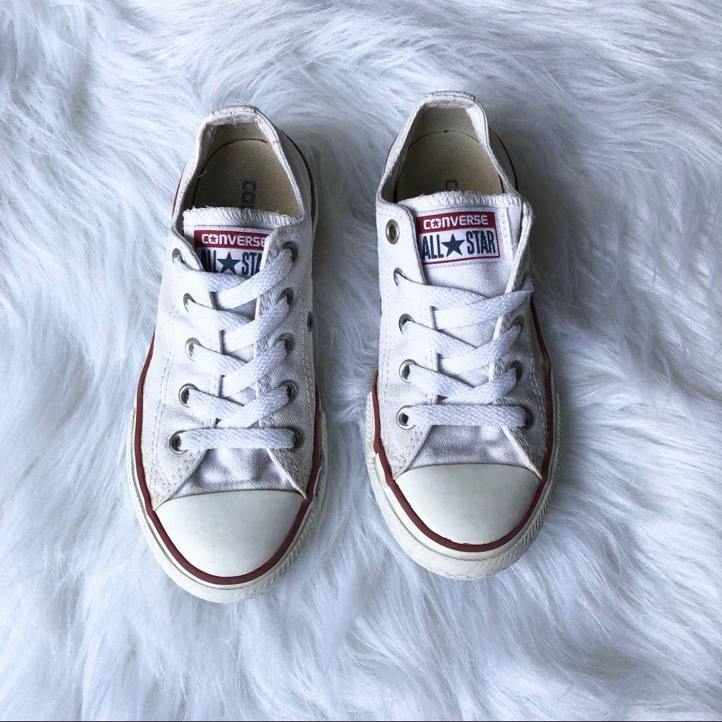 White Converse, size 13 | White