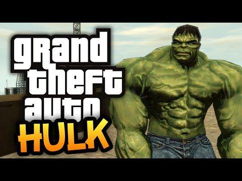 GTA 4: Return Of The Hulk! - (GTA Hulk Mod Funny Moments) - YouTube