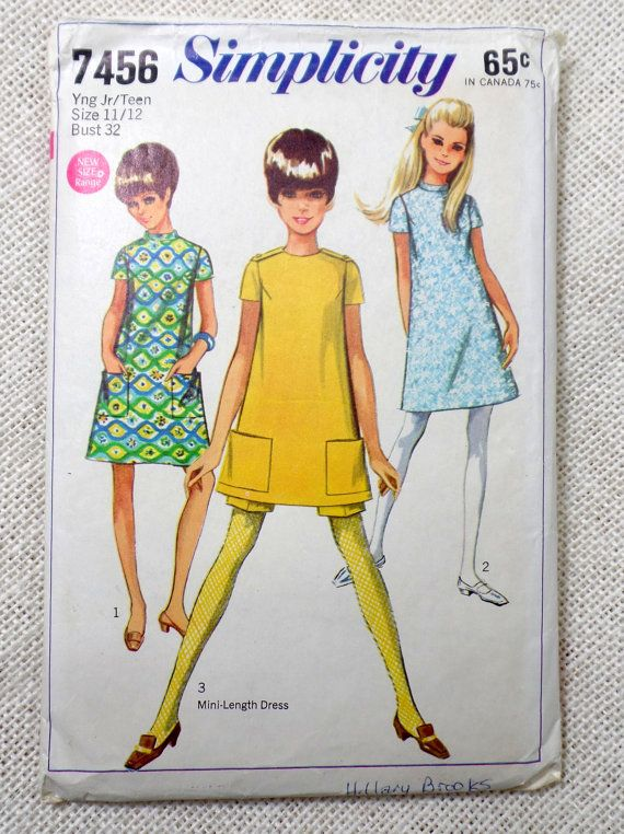 A Line Mini Dress Pattern
