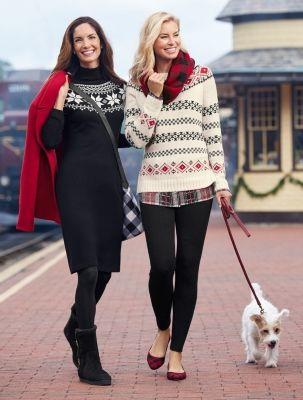 Stripe & Diamond Fair Isle Sweater - Talbots   Clothes I like ...