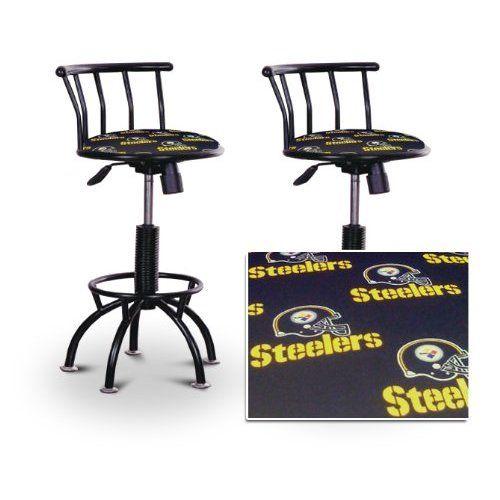 Pair Of Steelers Bar Stools For 230 Bar Stools Adjustable Bar