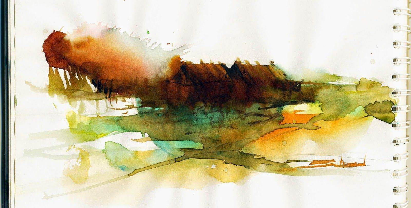 abstract watercolor works   Famous Abstract Watercolor Artists
