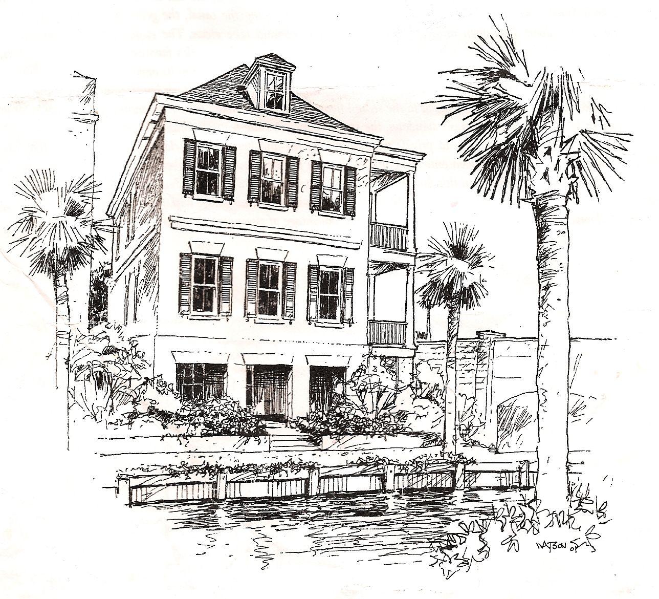 Single House Sketch