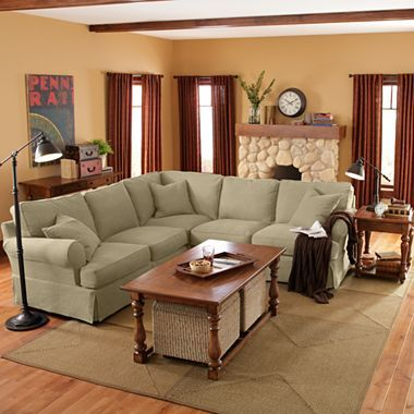 Linden Street 3 Pc Sectional Jcpenney 1650 Sectional