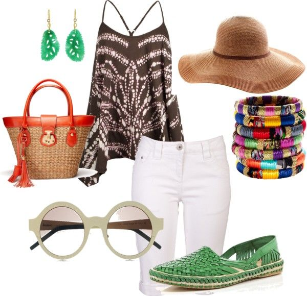 Going to the Beach, created by thepeacockprincess on Polyvore
