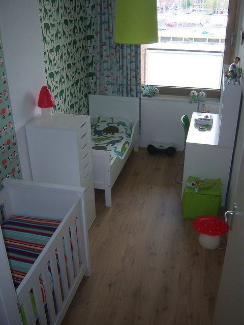 Bedroom Ideas For Baby Boy And Girl Sharing: Perfect For A Small Space Shared Kids Room/ Toddler And