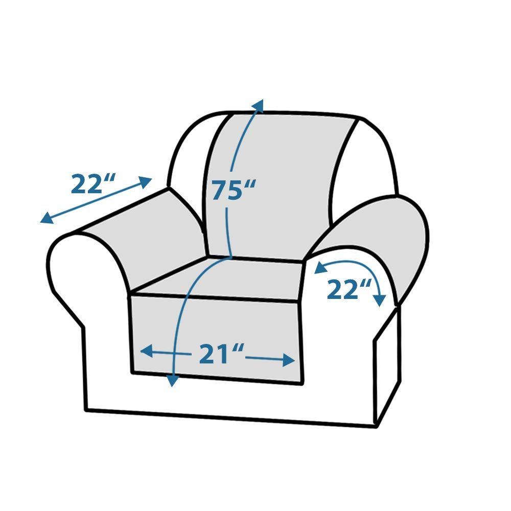 Stupendous Forcheer Waterproof Couch Cover Sectional Sofa Slipcover For Spiritservingveterans Wood Chair Design Ideas Spiritservingveteransorg