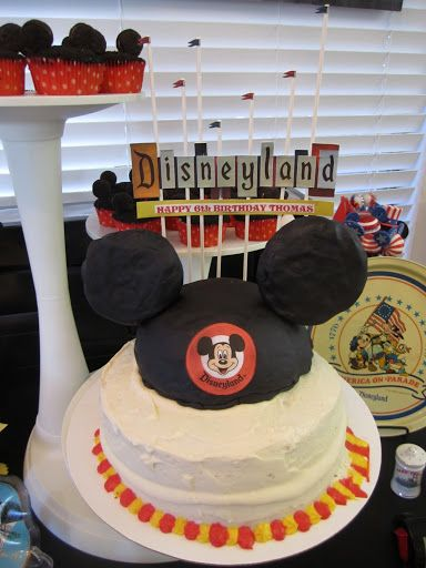 Disneyland Birthday Party theweeklydiner Disneyland Birthday