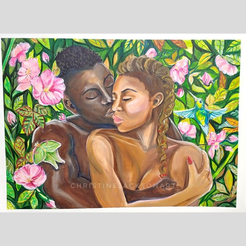 #blacklove This painting is for sale!