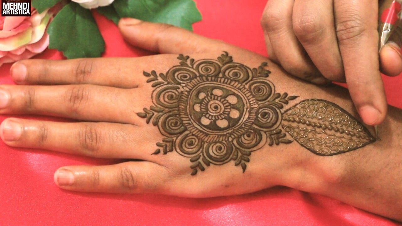 c6d0d8a26 Most Beautiful Easy Simple Heena Mehndi Designs For Upper Side|Trendy Me.