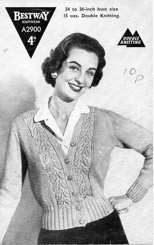 ladies jacket knitting pattern PDF womens cardigan with collar ...