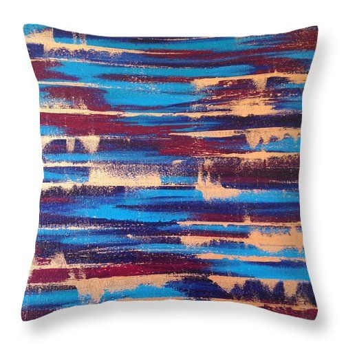 Over The Edge Throw Pillow for Sale by Lynn Tolson