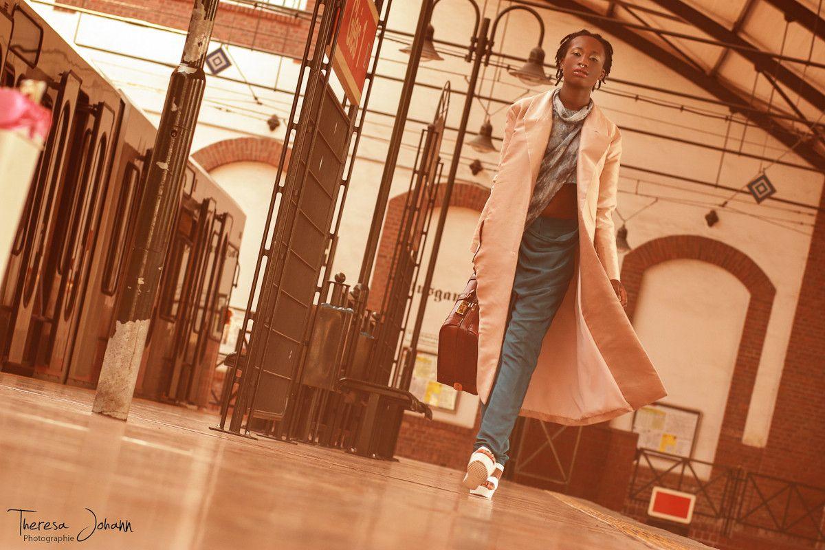 ashion design: Gina Herrmann photography: Theresa Johann model: Leona Boakye