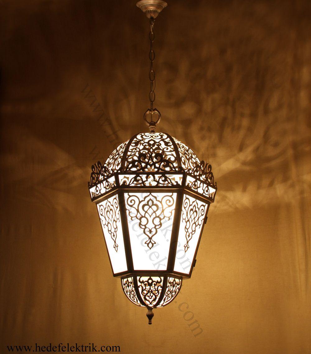 Hedef Aydinlatma Avize Abajur Aplik Led Lamp Decor Islamic Lantern Moroccan Lighting