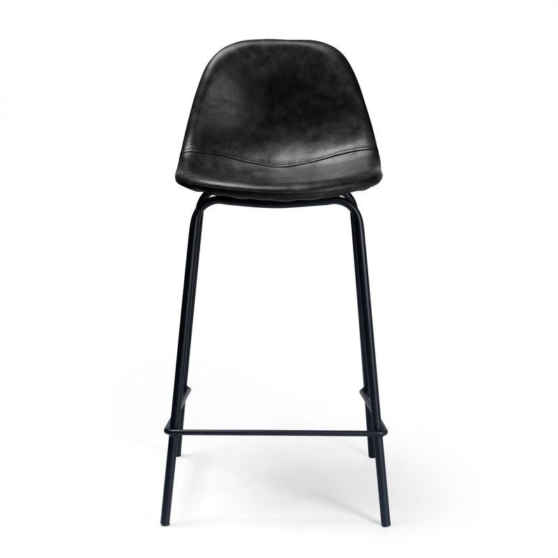 Neil Faux Leather Bar Amp Counter Stool