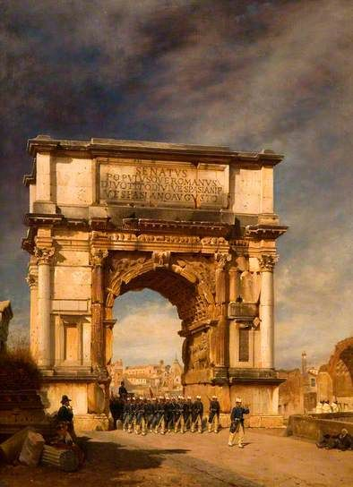 Arch of Titus, Rome by unknown artist