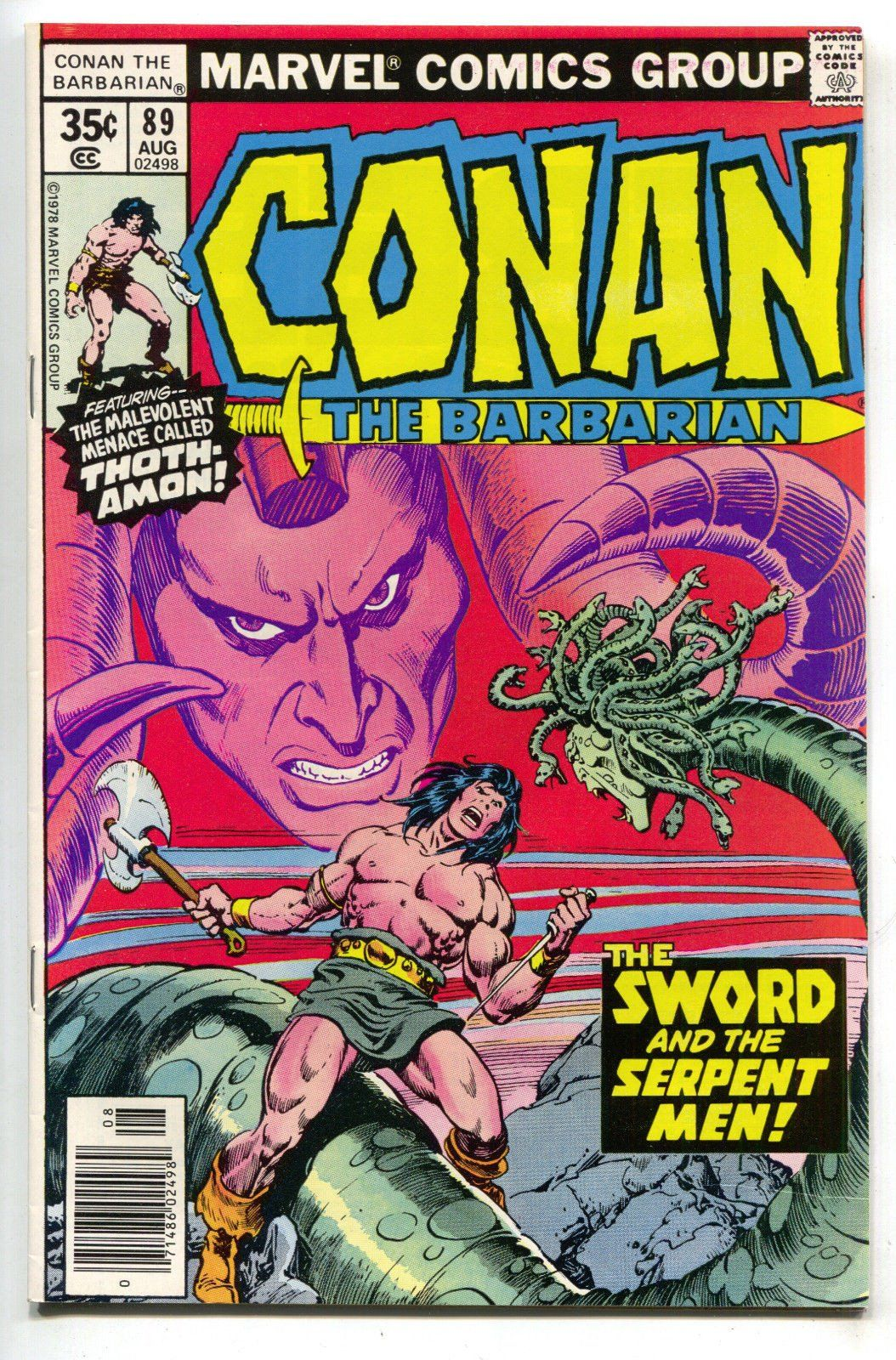 First Conan Comic I Ever Owned Won At A 4th Grade Math