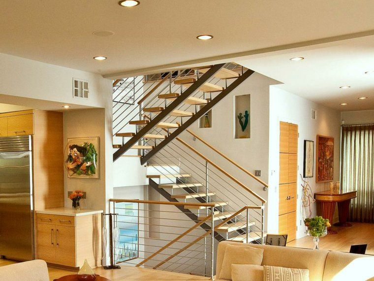 rampe d'escalier pour maison et garde corps contemporain