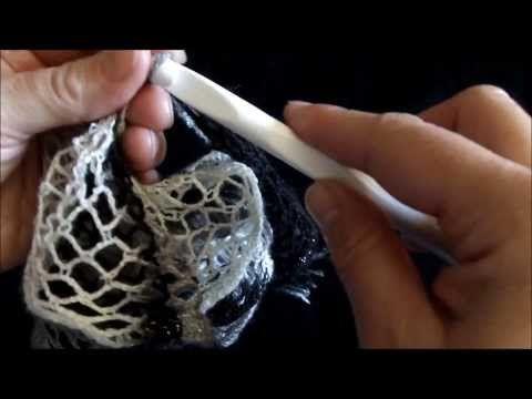How to crochet 2 different ways Sashay ruffle scarf - YouTube ...