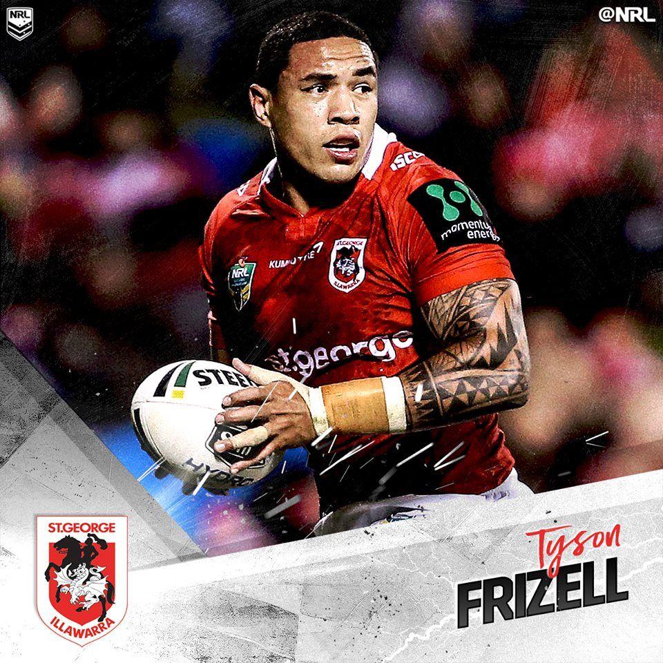 Tyson Frizell Was Awarded The St George-Illawarra Dragons