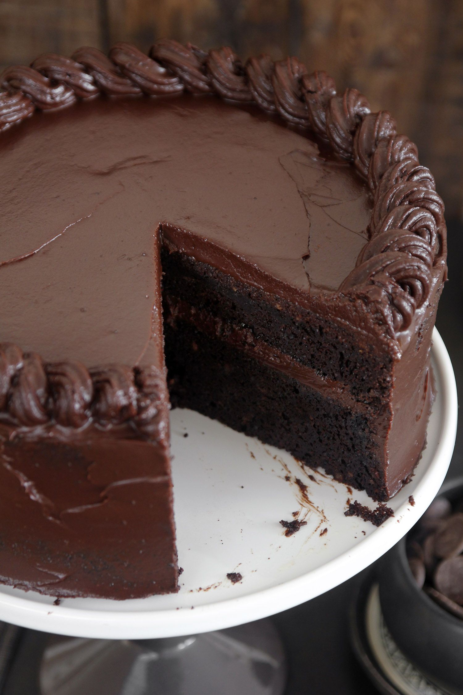 The Most Amazing Chocolate Cake Cake Recipes Amazing Chocolate Cake Recipe Chocolate Cake Recipe