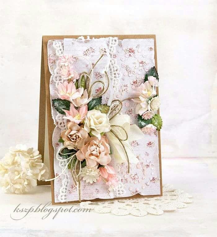 Скрапбукинг открытки ручной работы элегантные